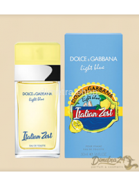 Европарфюм Dolce & Gabbana Light Blue Italian Zest (Дольче Габбана Лайт Блу Италиан Зест ) 100ml Женские