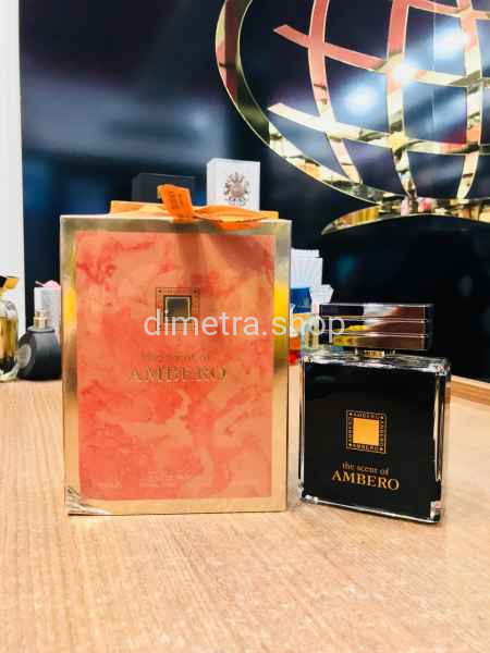 The Scent of Ambero pour femme 100 ml. fragrance World