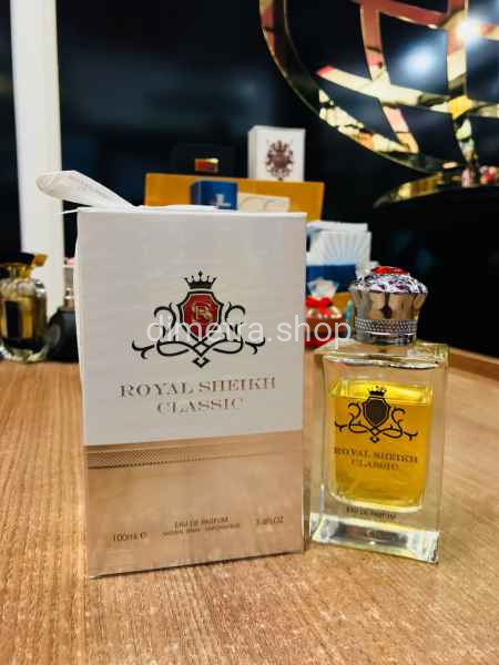 Fragrance World Royal Sheikh Classic pour homme 100 ml.