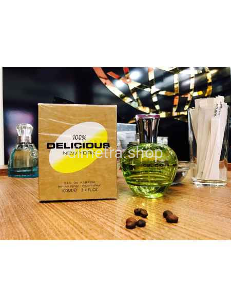 Fragrance World Delicious 100ml. Аромат DKNY Be Delicious Donna Karan (Зеленое Яблоко)