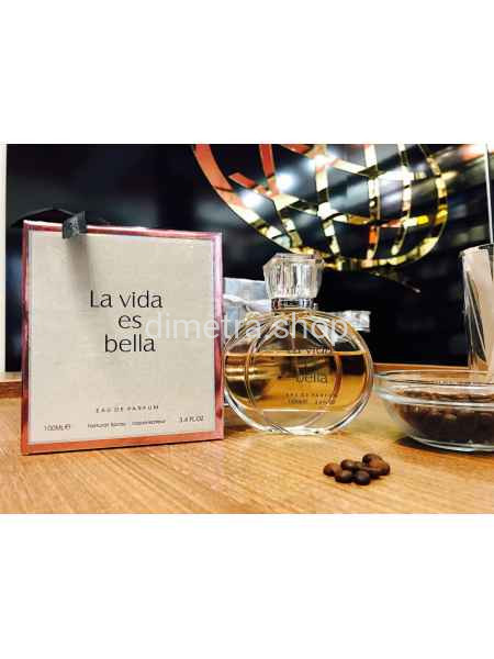 Fragrance World La Vida Bella 100ml. Аромат Lancome La Vie Est Belle