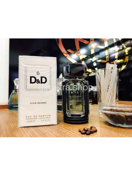 Fragrance World D&D 6 pour Homme 100ml. Аромат D&G 6 L'Amoureaux