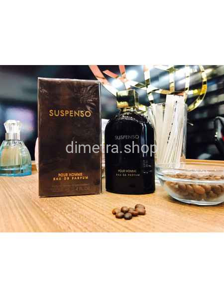 Fragrance World Suspenso pour Homme 100ml. Аромат D&G Intenso pour homme