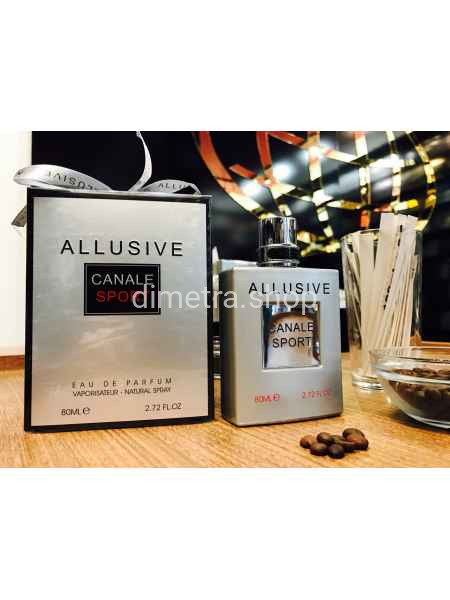 Fragrance World Canale Allusive Sport pour Homme 100ml. Аромат Chanel Allure Homme Sport