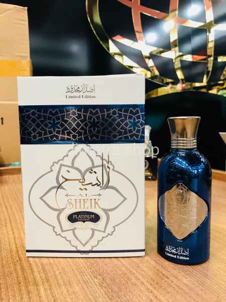 Fragrance World Al Sheik Platinum Edition pour Homme 100 ml. Limited Edition.